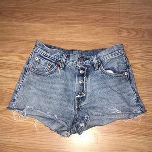 Levi's Women's Button-up Shorts